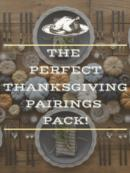 Perfect Thanksgiving Pairing Pack | Item No. 394263