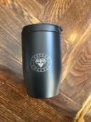 10 oz black travel mug with logo | Item No. 400221