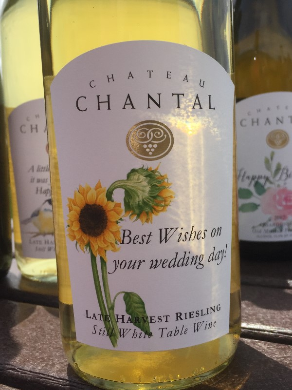 Chardonnay with Private Label