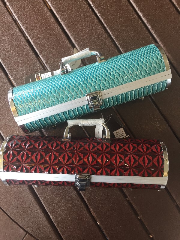 Cylindrical Wine Purse
